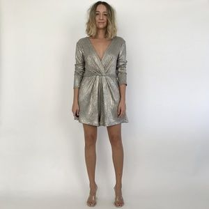 NWT Astr the Label KENZIE ROMPER / LARGE